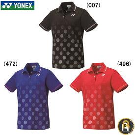 【ポスト投函送料無料】ヨネックス YONEX ウエア ウィメンズゲームシャツ 20501 バドミントン ソフトテニス