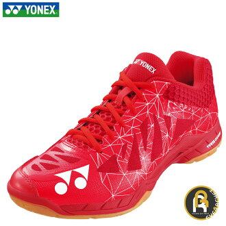 尤尼克斯YONEX羽毛球鞋羽毛球鞋3E设计低切功率靠垫空气RAS 2人POWER CUSHION AERUS 2 MEN SHBA2M红(001)