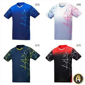 【ポスト投函送料無料】ゴーセン GOSEN ウエア ゲームシャツ T2042 バドミントン・テニス