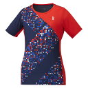 ゴーセン GOSEN ウエア レディースゲームシャツ T1943 バドミントン ソフトテニス