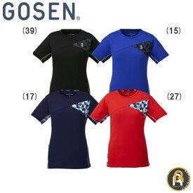 【!ウェアのみ5%OFFクーポン配布中!】【ゴーセンクリアランス】GOSEN ゴーセン バドミントン ソフトテニス レディース ウエア レディースゲームシャツ T1821
