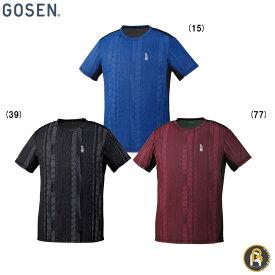 【!ウェアのみ5%OFFクーポン配布中!】GOSEN ゴーセン バドミントン ソフトテニス テニス ウエア ゲームシャツ T1914