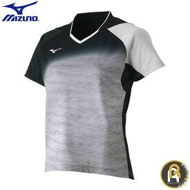 MIZUNO ミズノ バドミントン ソフトテニス ウエア ゲームシャツ ウィメンズ 62JA870804