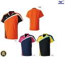 ミズノ MIZUNO バドミントン ソフトテニス ゲームシャツ ウェア ユニフォーム UNI ユニ 72MA8005