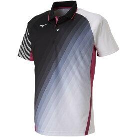 MIZUNO ミズノ バドミントン ソフトテニス ウエア ゲームシャツ 62JA9004