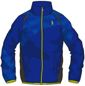【ゴーセンクリアランス】ゴーセン GOSEN Y1700 テニス・バドミントン ウェア(メンズ/ユニ) ライトウィンドジャケット ロイヤルブルー 17SS