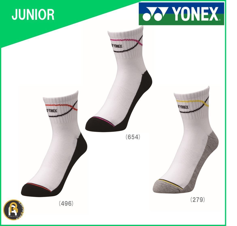 【特価商品】ヨネックス YONEX テニス ソフトテニス バドミントン ハーフソックス ハイブリットパワーソックス ソックス 靴下 ジュニア JUNIOR 19117J《19〜22cm》