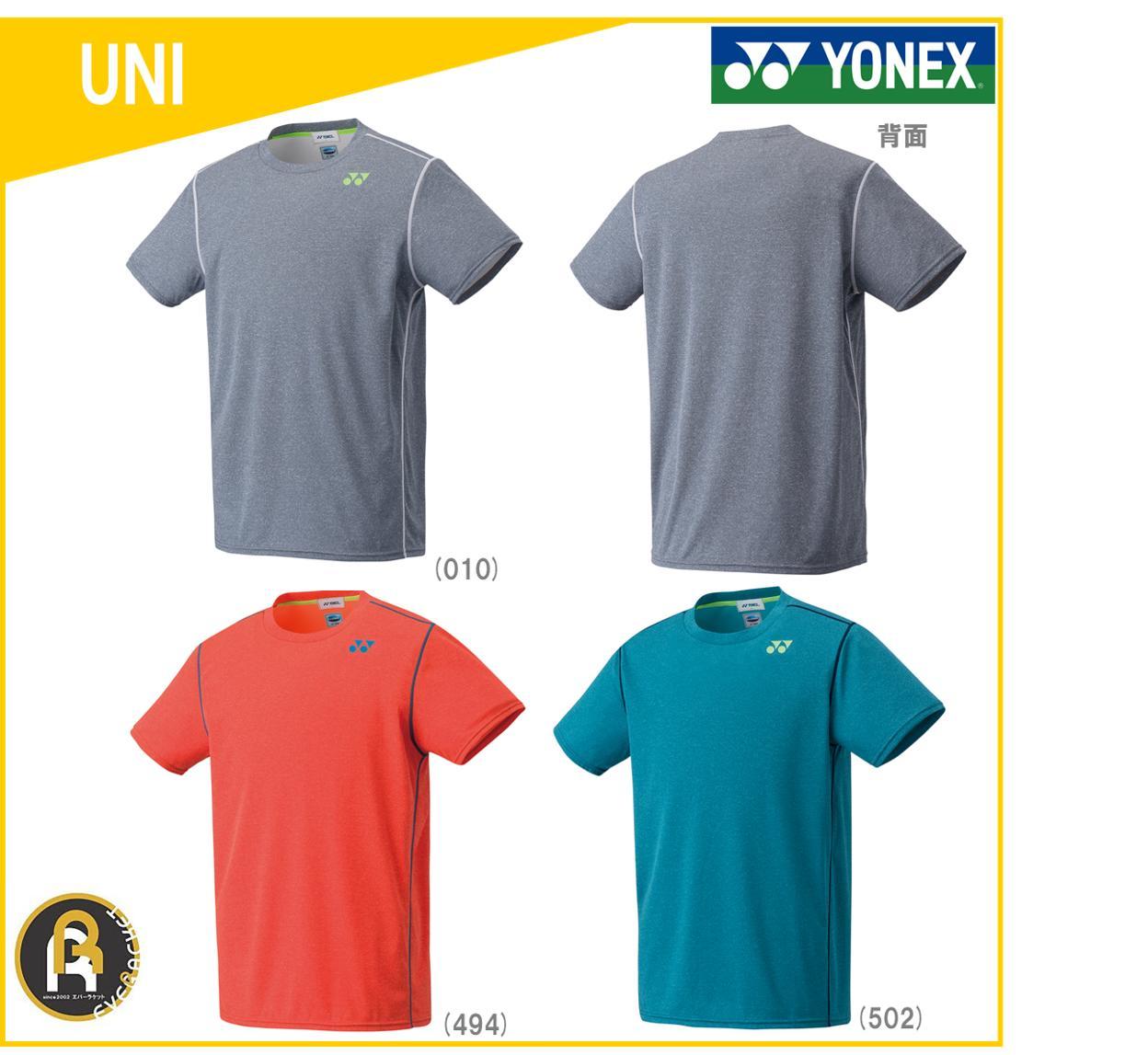 【お買い得商品】ヨネックス YONEX バドミントン ソフトテニス ベリークール Tシャツ シンセティックライト フィットスタイル ウェア UNI ユニ 16338