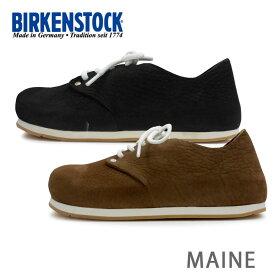 送料無料 BIRKENSTOCK ビルケンシュトック Maine NU メイン シューズ スニーカー 2色 672313 672323 細幅 あす楽