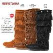 【ミネトンカ】5-layerFringeBoot<5レイヤーフリンジブーツ>(1652,1658,1659)【MINNETONKA/MINETONKA】【送料無料】