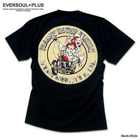 Tシャツ 半袖 メンズ キャラクター プリント Tシャツ : とってもキュートでロックでちょっと怖い?フランキーマウスファミリーのイラスト抜染プリントTシャツ!【バイカー バイク】