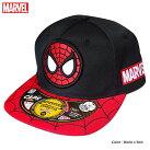 帽子マーベルMARVELスパイダーマンストリートキャップメンズキャップアべンジャーズ刺繍ロゴ厚盛りダンスグッズ