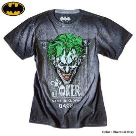 ジョーカー Tシャツ メンズ バットマン BATMAN JOKER グッズ 半袖 シャツ アメコミ DCコミックス 箔プリント