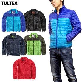 ライトダウンジャケット TULTEX メンズ ライトダウン ダウンジャケット 軽量 防寒 大きいサイズ ブランド ナイロン アウター アウトドア LL 3L