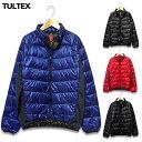 ライトダウンジャケット TULTEX メンズ ライトダウン ダウンジャケット 軽量 防寒 大きいサイズ ブランド 黒 ブラック ブルー 赤 レッド