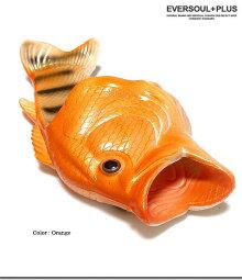 サンダルメンズレディース魚鯉コイインスタ映え面白いおもしろリアルラバーベランダルームシューズルームサンダル
