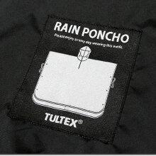 ポンチョレインコートメンズマントTULTEXタルテックスおしゃれ夏フェス自転車レインポンチョ雨具/雨の日のアウトドアや野外フェスに!カラフルな総柄ポンチョ!