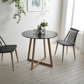 【期間限定ポイント10倍】カフェテーブル 北欧 丸テーブル おしゃれ ホワイト ブラック 直径60cm