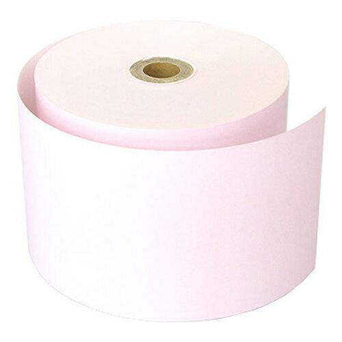58mm幅用 58×80×12 ピンク カラー感熱レジロール紙 【10巻】