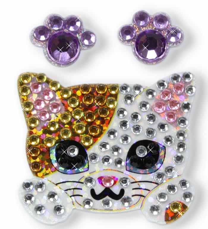 きらきらシール 猫 ◎ ギフト プレゼント ※ネーム入り商品ではありません 在庫限り OUTLET