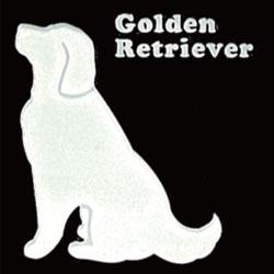 蒔絵ステッカー ゴールデンレトリバー ホワイト iphone 携帯電話 デコレーション 犬ステッカー ◎ ギフト プレゼント ※ネーム入り商品ではありません 在庫限り OUTLET