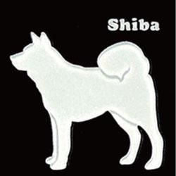 蒔絵ステッカー 柴犬 ホワイト iphone 携帯電話 デコレーション 犬ステッカー ◎ ギフト プレゼント ※ネーム入り商品ではありません 在庫限り OUTLET
