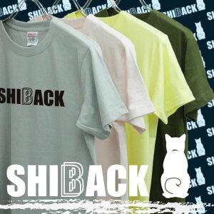 SHIBACK柴犬カラーTシャツ