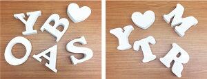 【アルファベット文字ホワイト100厚さ30】アルファベットオブジェカルプ文字白結婚式ディスプレイオブジェインテリアイニシャルウエディング置物karupu-white100-30