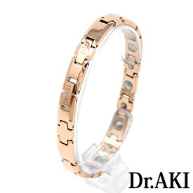Dr.AKI ゲルマニウム ブレスレット GoldBT010VP(ゴールド)