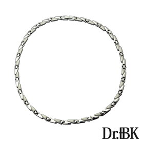 Dr.+BK ゲルマニウムネックレス NS001シリーズ(シルバー)