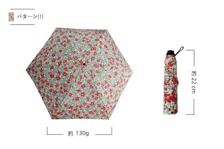 【スマホより軽い超軽量 日傘】約130g 日本製 紫外線防止加工 UVカット 折りたたみ傘