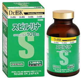 Dr.+BK スピルリナ (3ヶ月分) 野口医学研究所認証 ‐ SH762324
