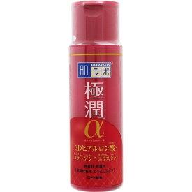 ロート製薬 肌ラボ 極潤α ハリ化粧水 しっとりタイプ 170mL ハダラボ