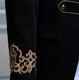 【サイズ有M/L/XL/2XL】演出服華麗な王族服洋式復古風コスプレ衣装紳士ドレス中世貴族公爵様コートメンズクリスマス仮装大人ハロウィンゴシックイギリスda353c0c0zj/代引不可02P09Jul16