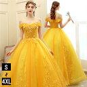 カラードレス 袖あり ウェディングドレス ロングドレス パーティードレス 大きいサイズ ピアノ 発表会 ドレス 成人式 …