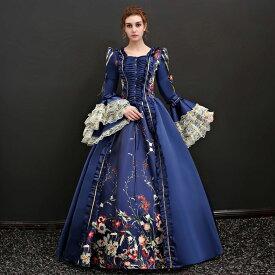 d86fffd95637d  フリーサイズ 新入荷 貴族 衣装 サイズ指定可 王族服 カラードレス 締め上げ