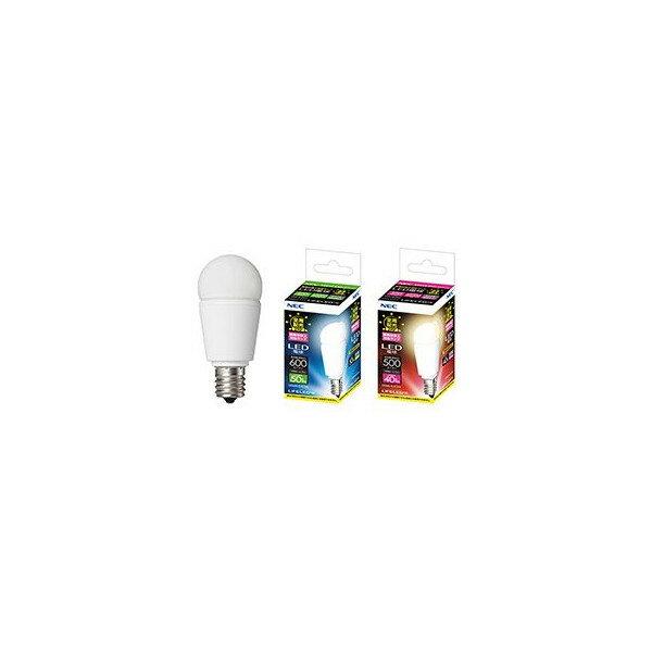 NEC 電球形LEDランプ 小形電球形 全般配光形色相当 電球色相当(小形電球40形相当)【LDA6L-G-E17/S-C2】