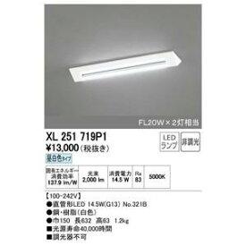 オーデリック(ODELIC)LEDベースライト 【XL251719P1S】