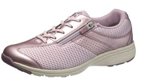 送料無料 ASAHI(アサヒ) MEDICALWALK MS-L メディカルウォーク ラベンダー 膝の予防 レディススニーカー サイドファスナー付き 幅広4E ウォーキングシューズ 紳士靴