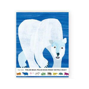 【エリックカール/EricCarle】レターセット「POLAR BEAR,POLAR BEAR,WHAT DO YOU HEAR? 」