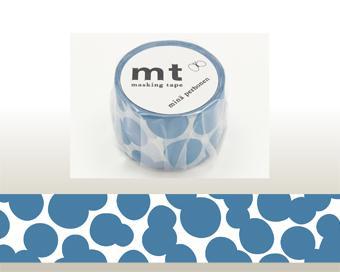 【mt×mina perhonen】マスキングテープ soda water・blue