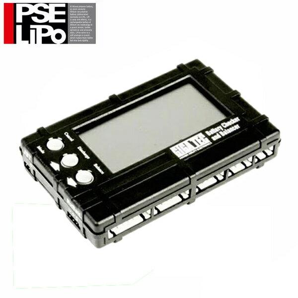 PSEリポバッテリー チェッカー&バランサー GIGA TEC ギガテック LAYLAX ライラクス 電圧チェック セルバランス調整 放電 4571443133076