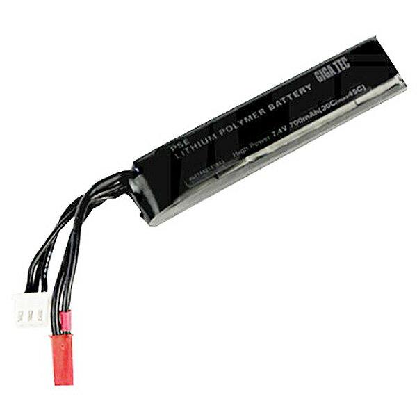 ギガテック PSE Lipo バッテリー 電動ハンドガンタイプ 7.4V 700mAh 4571443135575 エアガン エアーガン 電動ガン対応 リポ ライラクス Laylax 1210gn