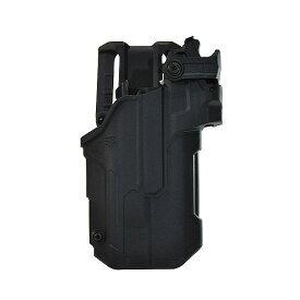 【最大1500円OFF】 ブラックホーク 44ND61BKR T-SERIES L3D LB/RDS DUTY ホルスター SIG P320/P250 (STREAMLIGHT TLR1/2専用) 右 BK BLACKHAWK