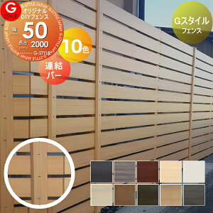 固定部品 Gスタイルフェンス 柱開き止め 人工ウッド 人工木材 樹脂製 フェンス横張り 樹脂製フェンス板材