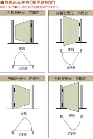 【目隠しフェンス】【DIYフェンス】【門扉】【B門扉タイプB内開きW08-H18】【くぐり戸仕様ユニット式】【人工ウッド人工木材樹脂製フェンス横張り樹脂製フェンス板材】