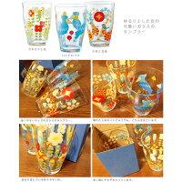 【KOTORITACHI】タンブラーセキセイと花◆小鳥グッズ小鳥雑貨キッチンキッチン用品コップガラス製品セキセイインコ