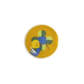 【KOTORITACHI】箸皿・薬味皿 ★クローバーとセキセイ ◆小鳥グッズ 小鳥雑貨 食器 カトラリー 小皿 コトリタチ
