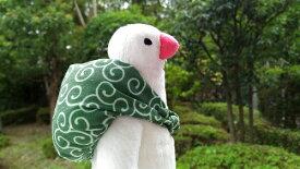 【ふろしき文鳥】ぬいぐるみ ◆◆ 文鳥 白文鳥 ことりカフェ 雑貨 シープロップ