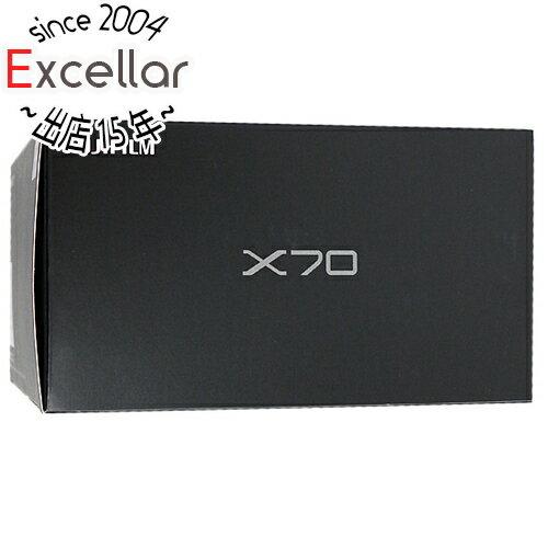 【中古】FUJIFILM製 デジカメ X70 ブラック/1630万画素